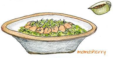 健康レシピの豚肉レシピ:ゆで豚とたっぷり野菜の中華風ポン酢