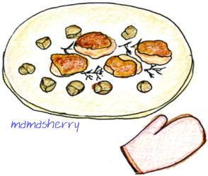 健康レシピの肉と野菜のレシピ:チキンのさっぱりマリネグリル