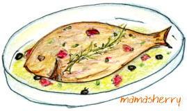健康レシピの魚介レシピ:簡単アクアパッツァ