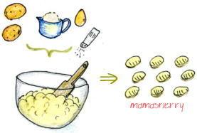 健康レシピのイタリアンレシピ:ニョッキ