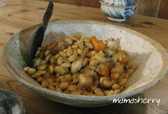健康レシピの豆レシピ:鶏と大豆の煮ものコリアンダー風味