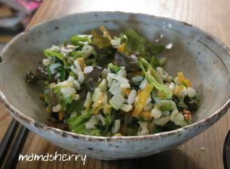 健康レシピの今日の献立:ライスサラダ